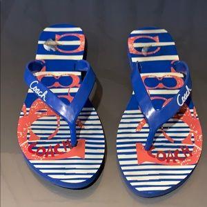 Coach Flip Flops 7